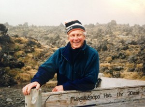 """""""Moss""""  Tongararo Alpine Crossing. He really loved being in the hills."""