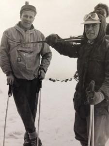 Fox Glacier adventure, January 1954.
